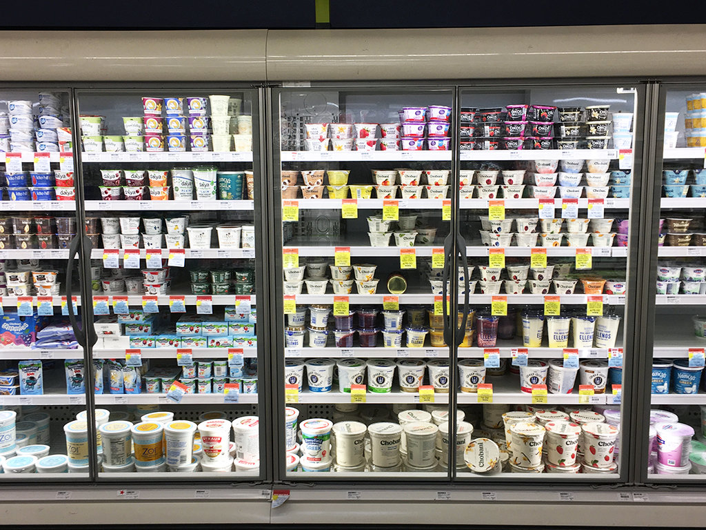The dairy case at my local New Seasons Market