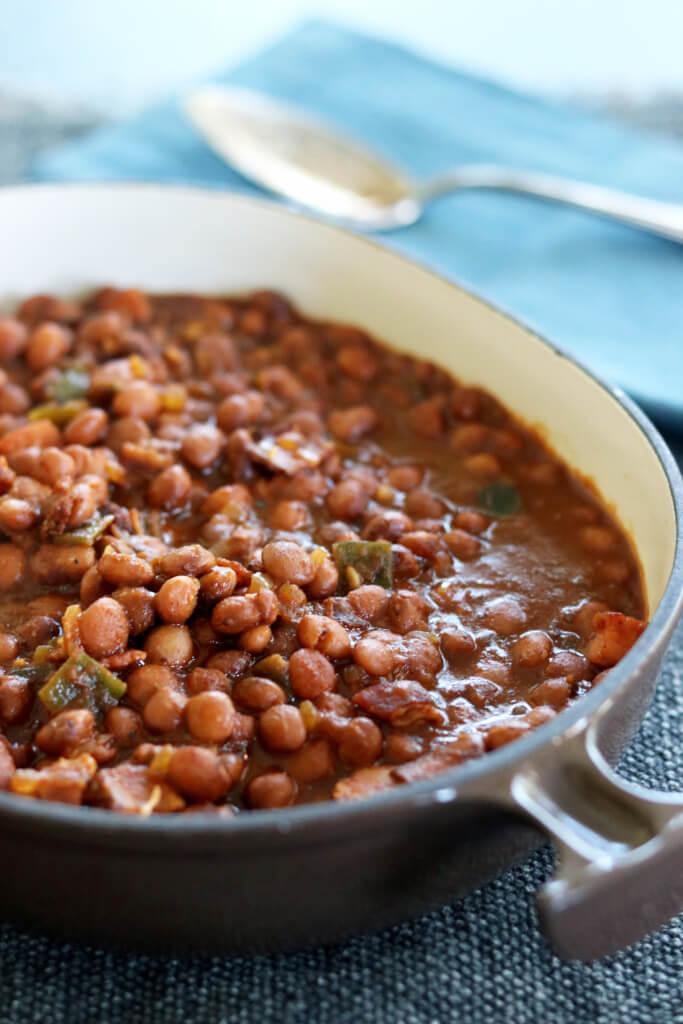 Santa Maria Style pinquito beans